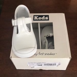 Infant Keds T Stap shoe